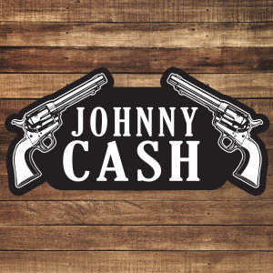 Johnny Cash Two Guns Patch