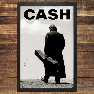 Cash Block Logo Photo Framed Poster