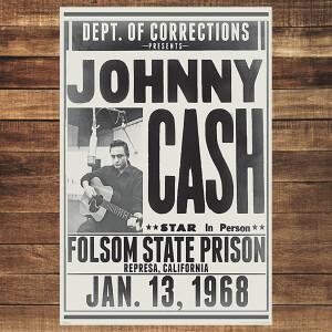 Folsom State Unframed Poster