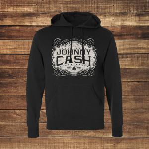 Johnny Cash Emblem Hoodie