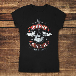 Winged Guitar Women's T-Shirt