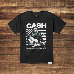 Cash Rules Black T-Shirt