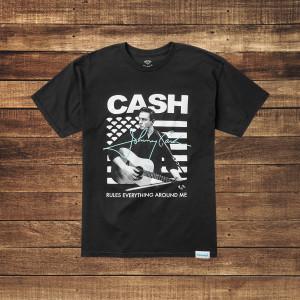 Cash Rules Black T-Shirt