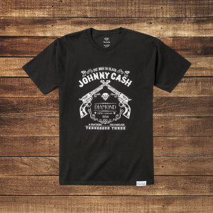 Tennessee Three Black T-Shirt