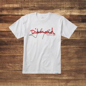 Cash Script White T-Shirt