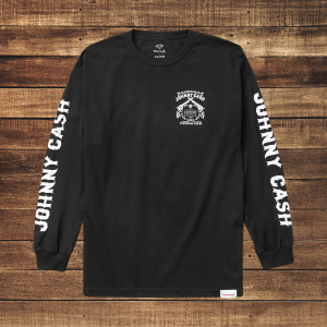 Tennessee Three Long Sleeve Black T-Shirt