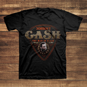 MIB Guitar Pick Black T-Shirt