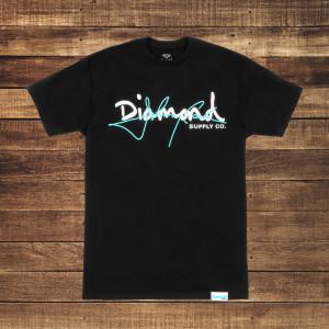 Cash Script Black T-Shirt