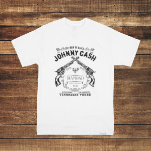 Tennessee Three White T-Shirt