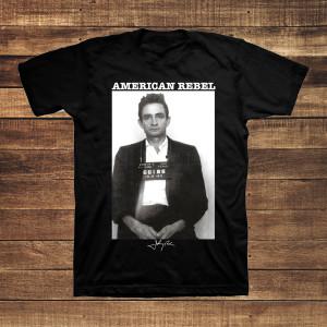Johnny Cash Mug Shot Men's T-shirt