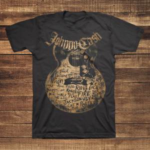 Johnny Cash Songs T-Shirt