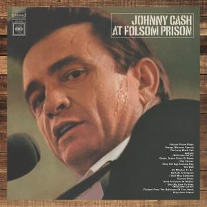 Johnny Cash t Folsom Prison Vinyl