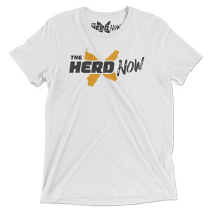 The Herd Now Logo T-Shirt White