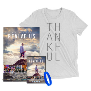 Revive Us DVD + Thankful T-Shirt + Signed Limited Edition Poster Bundle