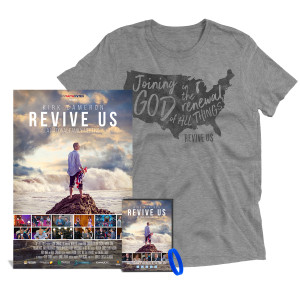Revive Us Official T-Shirt + DVD +  Signed Limited Edition Poster Bundle