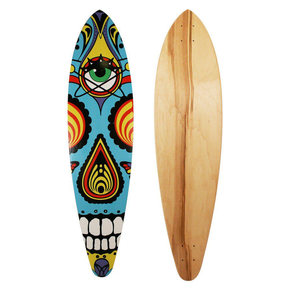 DOTD Skull Cruiser Longboard