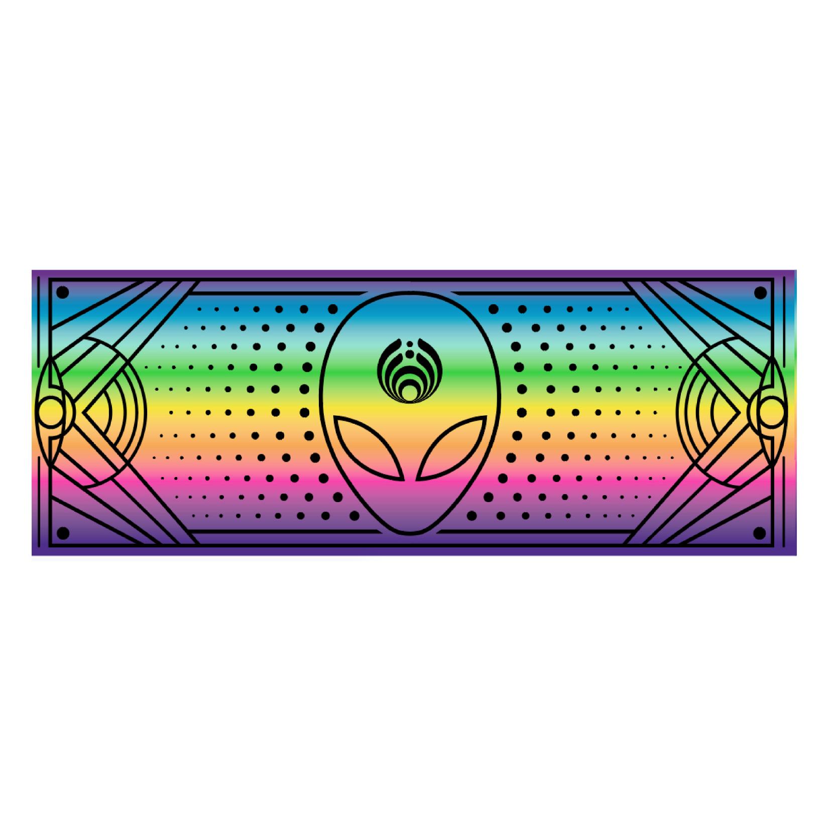 Rainbow Pashmina