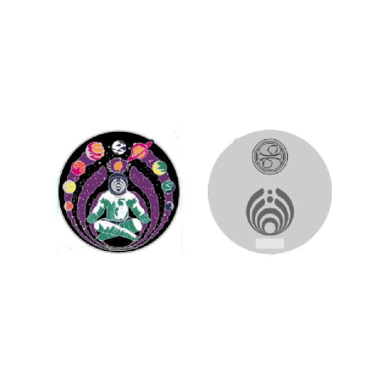 Astronaut Namaste Pin