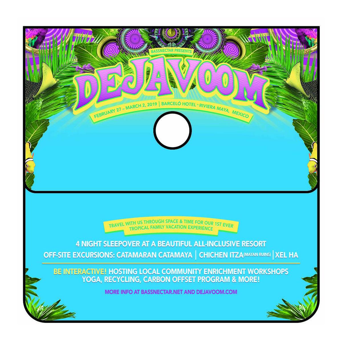 DejaVoom Mexico 2019 Portable Cigarette Receptacle