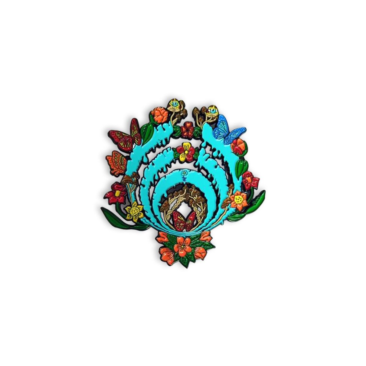 Blooming Bass Drop Pin