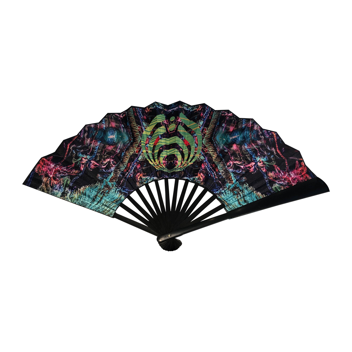 Hand Fan Multi-Colored