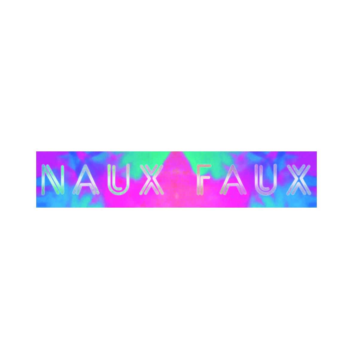 Naux Faux Reflective Sticker