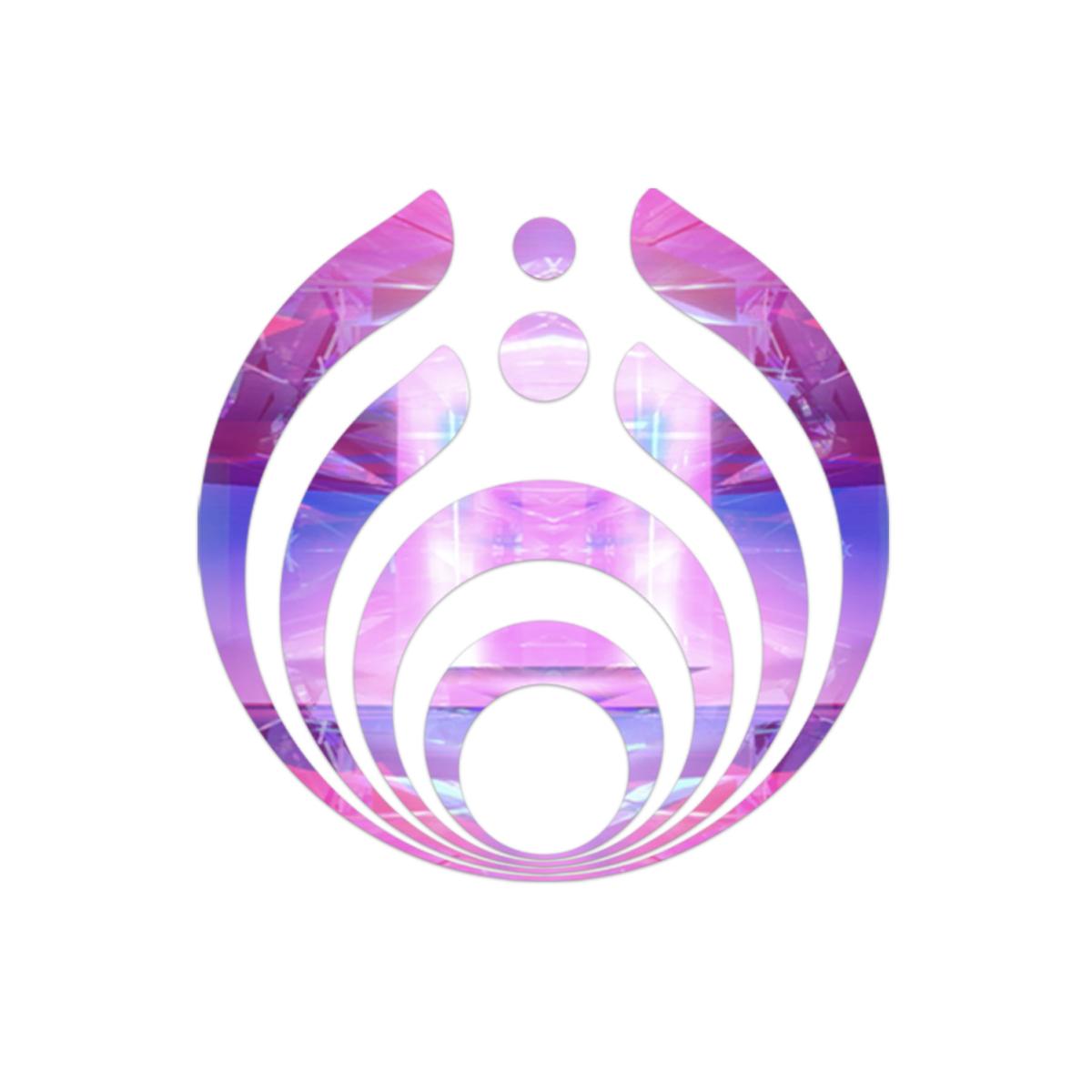 Lockdown Logo Sticker #1