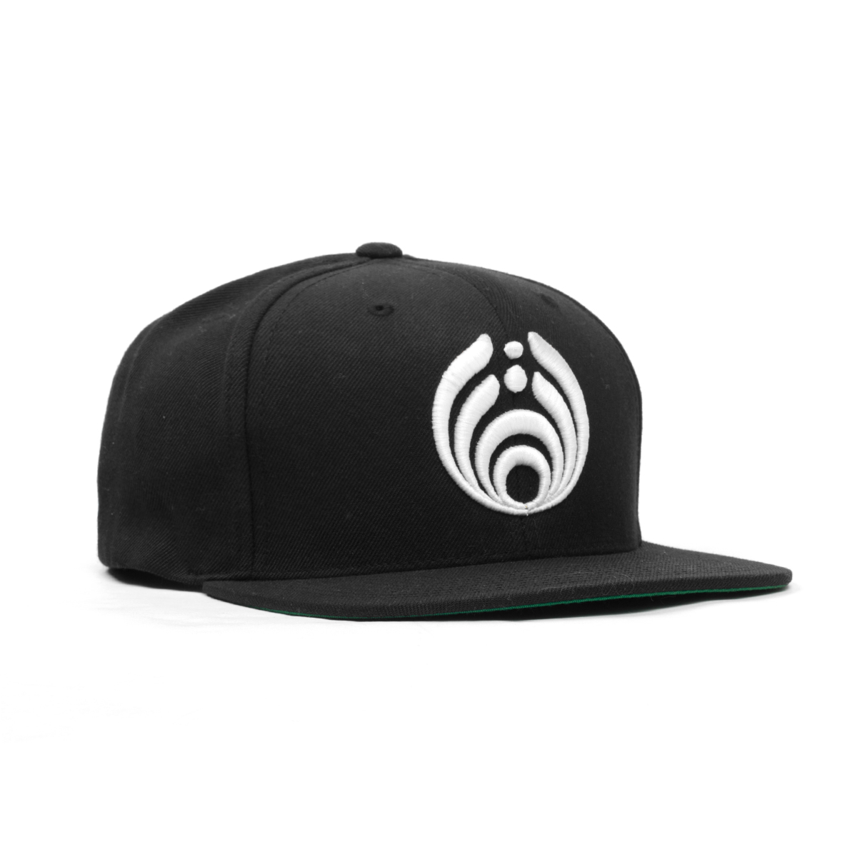 Black Puffy Bassdrop Logo Hat