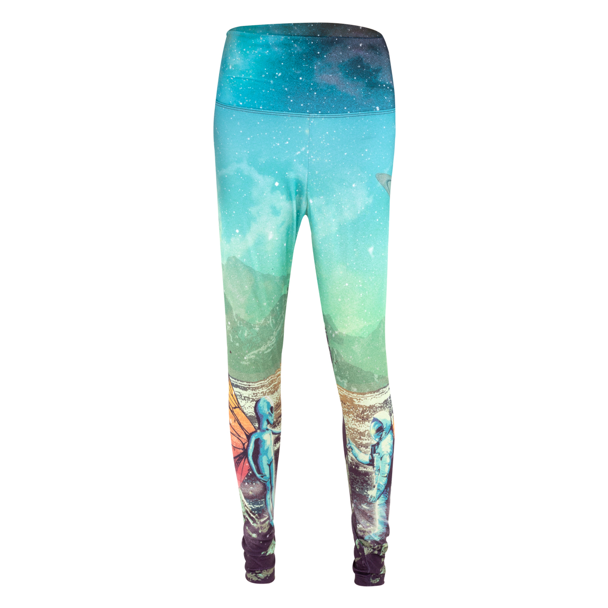 Alien Astronaut Leggings