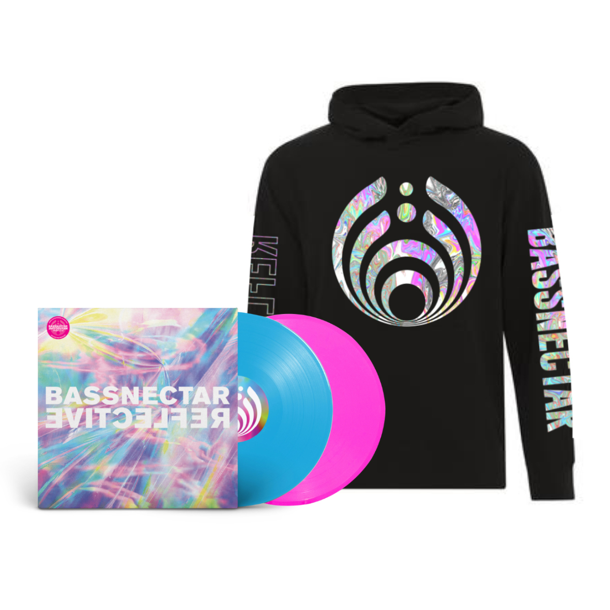 Reflective (Part 1 & 2) LP + Black Hoodie Bundle