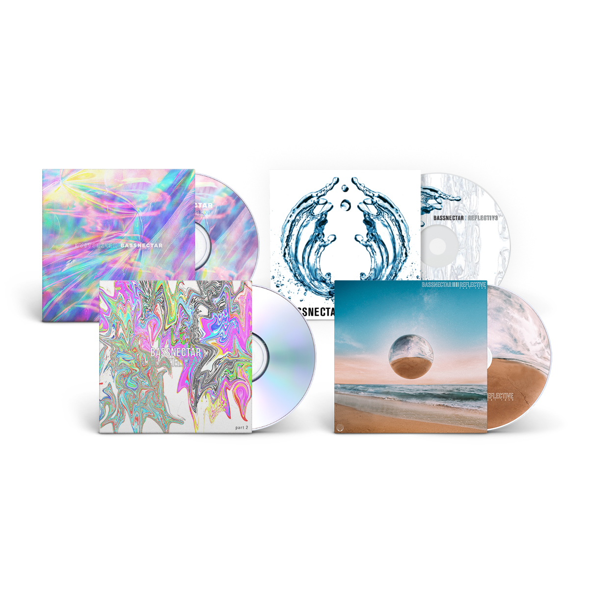 1-4 Reflective CD+Download Bundle
