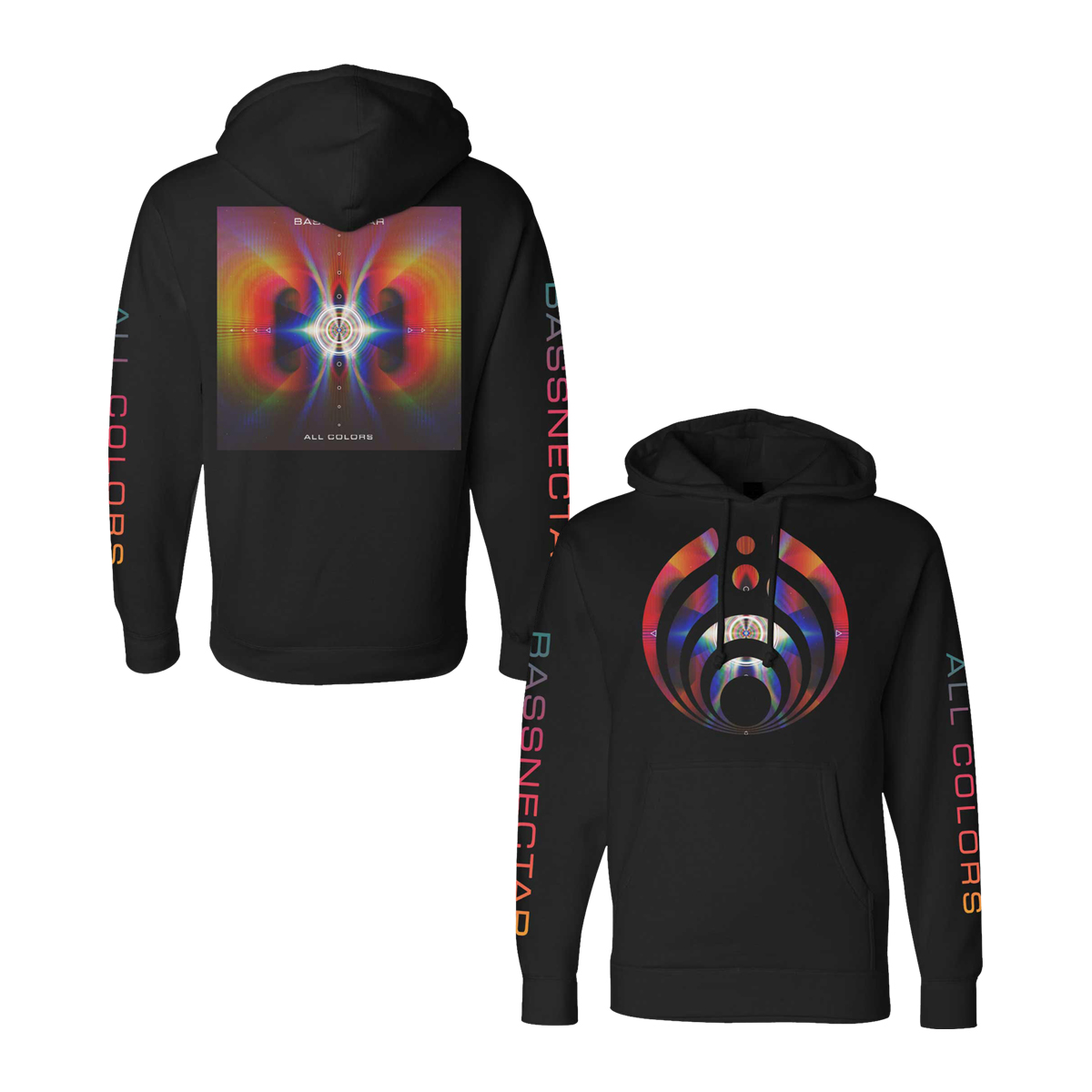All Colors Deluxe Black Hoodie Bundle