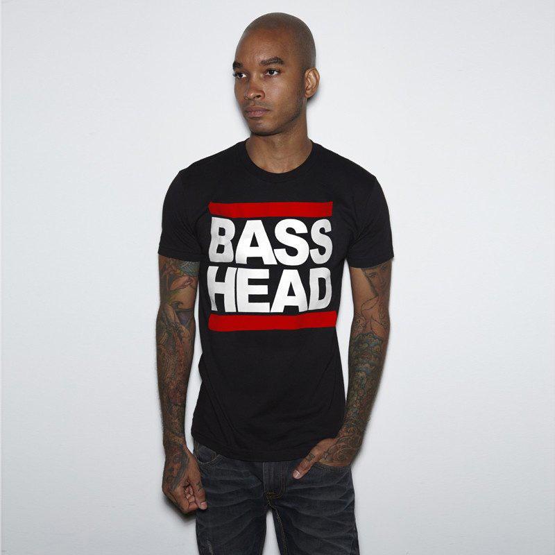 Bassnectar - Classic Bass Head - Black Tee