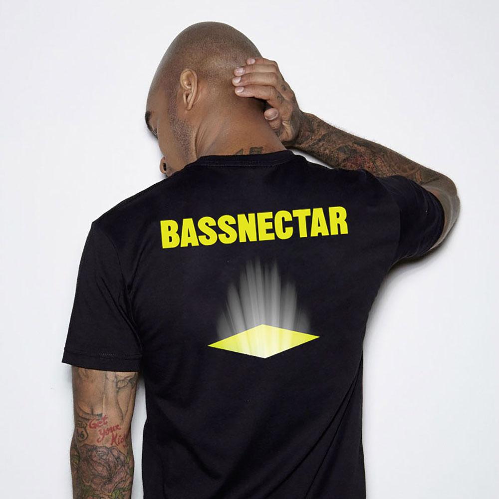 Bassnectar - Grid - Black Tee