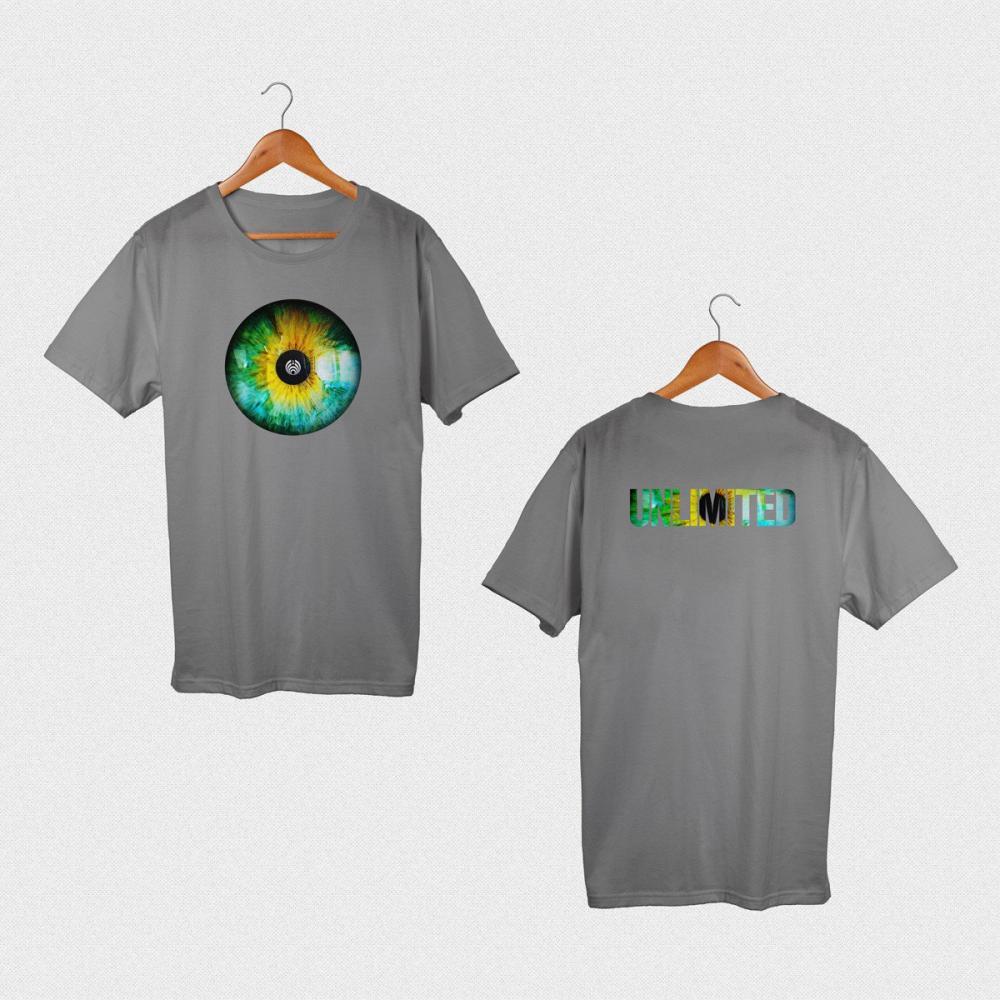 Bassnectar - Unlimited Eye - Charcoal Tee