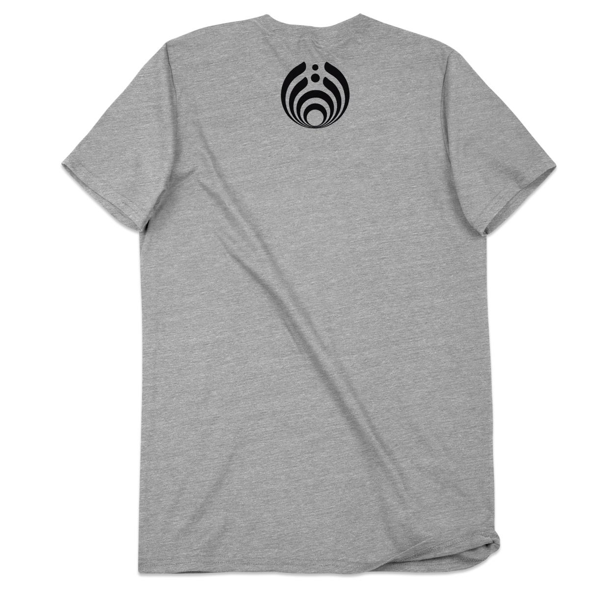 Bassnectar Bass Head T Shirt  - Grey