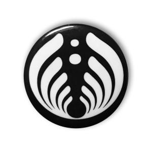 Black And White Emblem Sticker Shop The Bassnectar