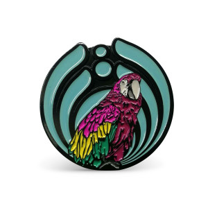 DejaVoom Mexico 2019 Bird Pin