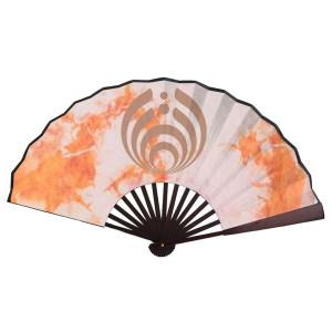 Hand Fan Orange