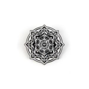 NYE360 Sacred Black White Pin