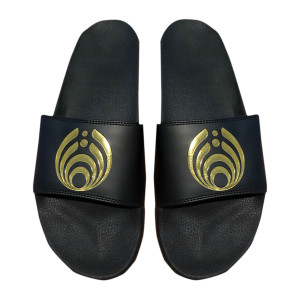 Black/Gold Slides