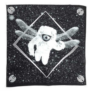 Black Astro Bandana