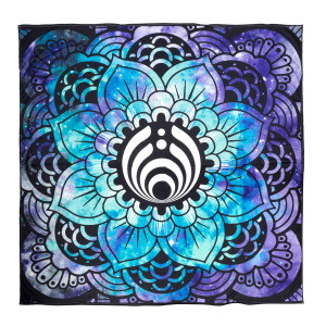 Tie-Dyed Flower Tapestry
