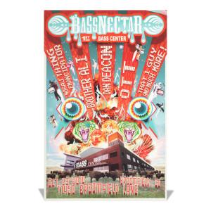 Bass Center Poster - October 23, 2010