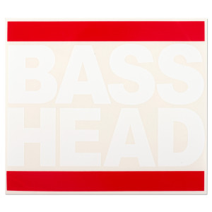 Bass Head Decal