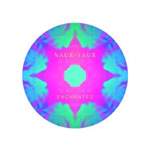 Naux Faux Circle Sticker