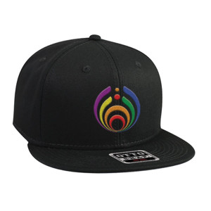 Rainbow Bass Drop Hat