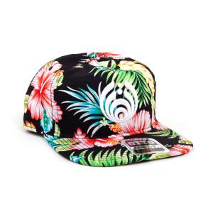Floral Puffy Bassdrop Logo Hat