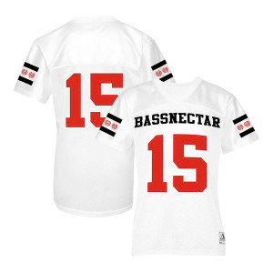 Bassnectar - 15 - White Football Jersey