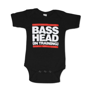 Bassnectar - Bass Head In Training - Black Onesie